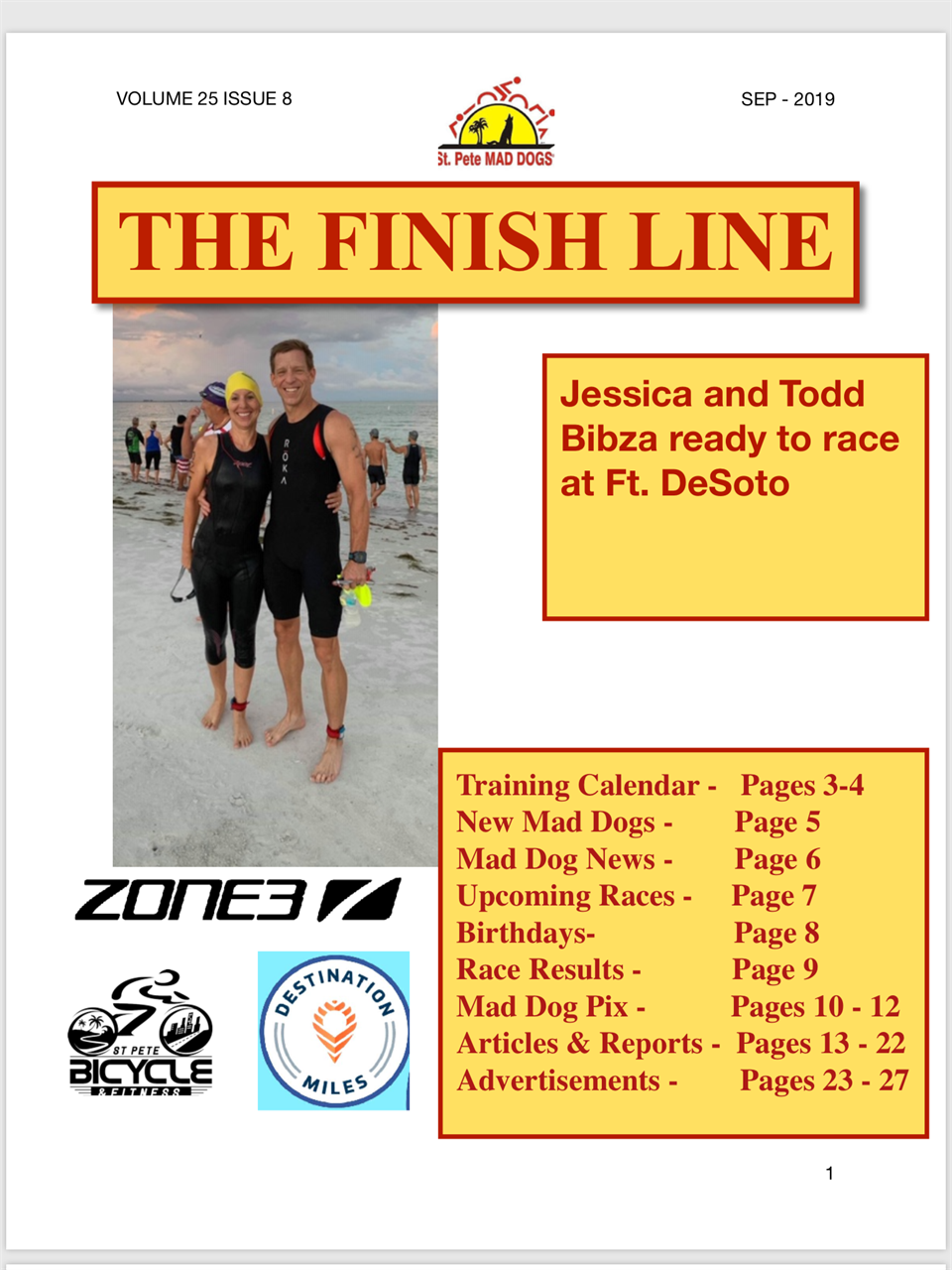 St Pete Mad Dogs Triathlon Club - Newsletter